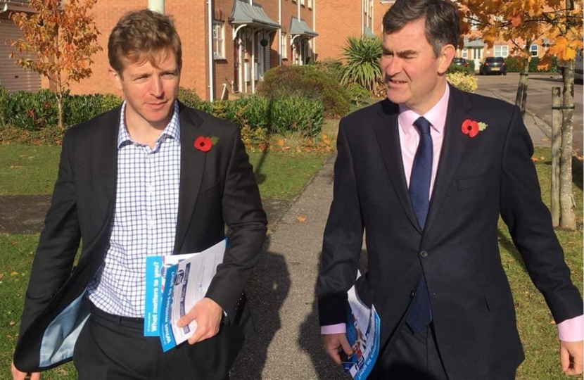 David Gauke MP and Ryan Henson